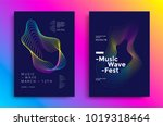 Music Wave Poster Design. Soun...