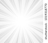 sun rays  sunburst  light rays  ... | Shutterstock .eps vector #1019318770