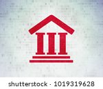 law concept  painted red... | Shutterstock . vector #1019319628
