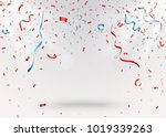 celebration background with red ...   Shutterstock .eps vector #1019339263