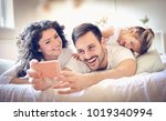 lets take a photo of our happy... | Shutterstock . vector #1019340994