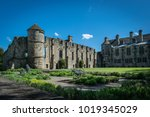falkland palace and gardens ... | Shutterstock . vector #1019345029