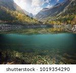 mauntain landscape design... | Shutterstock . vector #1019354290