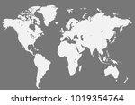 political world map | Shutterstock .eps vector #1019354764