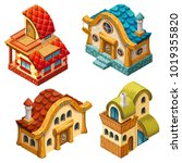 3d isometric cottages for...
