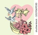 Valentine's Day Vintage Card ...