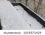 snow in winter. cold weather.... | Shutterstock . vector #1019371429