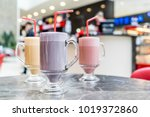 coffee with syrup | Shutterstock . vector #1019372860