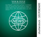 world and global news concept...   Shutterstock .eps vector #1019383600
