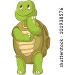 cartoon character funny turtle... | Shutterstock .eps vector #101938576