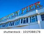 brighton  east ... | Shutterstock . vector #1019388178