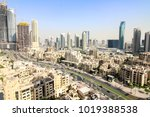 city buildings and towers | Shutterstock . vector #1019388538