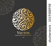vector emblem. can be used for...   Shutterstock .eps vector #1019388958