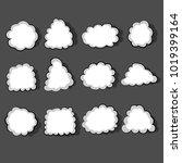 speech bubble illustration....   Shutterstock .eps vector #1019399164
