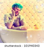 Romantic Dreamer Taking Bath...