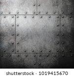 old steel metallic background... | Shutterstock . vector #1019415670
