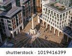 london  uk   october 30  2012 ... | Shutterstock . vector #1019416399