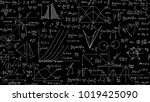 mathematical scientific vector... | Shutterstock .eps vector #1019425090