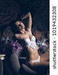 beautyful young woman in...   Shutterstock . vector #1019432308