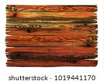 colorful shabby wooden board.... | Shutterstock .eps vector #1019441170
