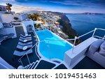 greece  santorini   april 6 ... | Shutterstock . vector #1019451463