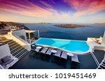 greece  santorini   april 6 ... | Shutterstock . vector #1019451469
