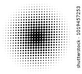 halftone element. abstract... | Shutterstock .eps vector #1019457253