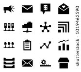 origami style icon set  ... | Shutterstock .eps vector #1019462590