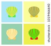 sketch style vector... | Shutterstock .eps vector #1019466640