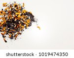 cigarettes addiction. unhealthy ... | Shutterstock . vector #1019474350