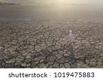 young muslims pray for god...   Shutterstock . vector #1019475883