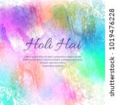 illustration of colorful happy... | Shutterstock .eps vector #1019476228