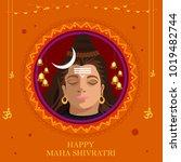 illustration of happy maha...   Shutterstock .eps vector #1019482744