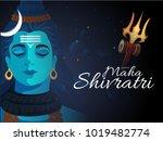 illustration of happy maha...   Shutterstock .eps vector #1019482774