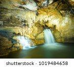 underground cave of misol ha... | Shutterstock . vector #1019484658