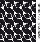 vector seamless pattern. modern ... | Shutterstock .eps vector #1019489086