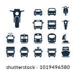 motor icon. collection of... | Shutterstock .eps vector #1019496580