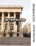 paris  france   october 26th ... | Shutterstock . vector #1019498038