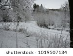 winter landscape with snow   Shutterstock . vector #1019507134