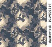 dark urban camouflage of... | Shutterstock .eps vector #1019508514