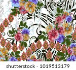 beautiful colorful background... | Shutterstock . vector #1019513179