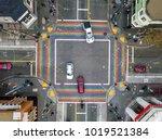 rainbow crosswalk in castro... | Shutterstock . vector #1019521384