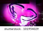 digital illustration  of collar ... | Shutterstock . vector #101954029