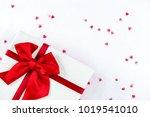 valentine's day or wedding gift ... | Shutterstock . vector #1019541010