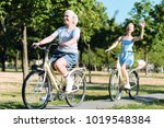 healthy lifestyle. delighted... | Shutterstock . vector #1019548384