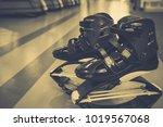 kangoo jumps boots | Shutterstock . vector #1019567068