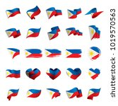 Philippines Flag  Vector...