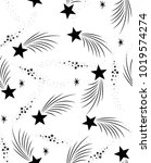 space star pattern print | Shutterstock .eps vector #1019574274