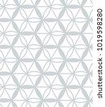 abstract geometric vector... | Shutterstock .eps vector #1019598280