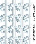 abstract geometric vector... | Shutterstock .eps vector #1019598304